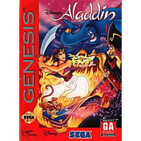 Disney's Aladdin - Genesis Game