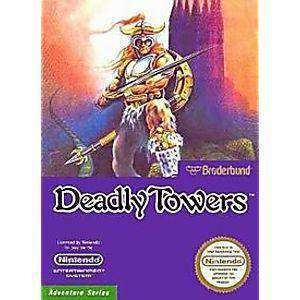 Deadly Towers - NES Game | Retrolio Games