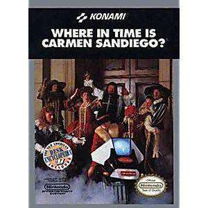 Where in Time is Carmen Sandiego? - NES Game | Retrolio Games