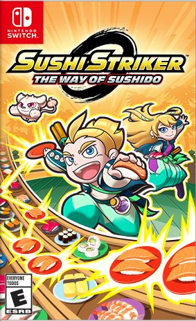 SUSHI STRIKER: THE WAY OF THE SUSHIDO  (Nintendo Switch) - Nintendo Switch Game