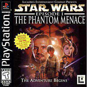 Star Wars Phantom Menace - PS1 Game | Retrolio Games
