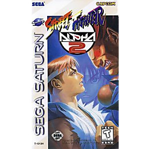 Street Fighter Alpha 2 - Sega Saturn Game
