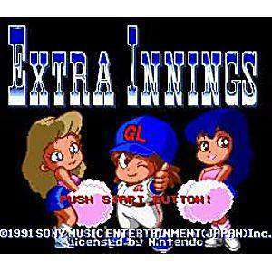 Extra Innings - SNES Game | Retrolio Games