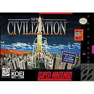 Sid Meier's Civilization - SNES Game | Retrolio Games