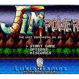 Jim Power the Lost Dimension in 3D - SNES Game | Retrolio Games