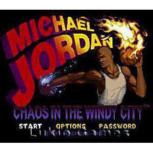 Michael Jordan Chaos in the Windy City - SNES Game | Retrolio Games