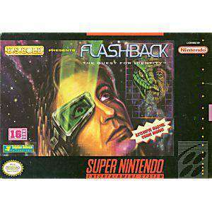 Flashback the Quest for Identity - SNES Game | Retrolio Games