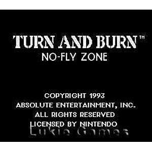 Turn and Burn No Fly Zone - SNES Game | Retrolio Games
