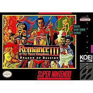 Romance of the Three Kingdoms 3 - SNES Game | Retrolio Games