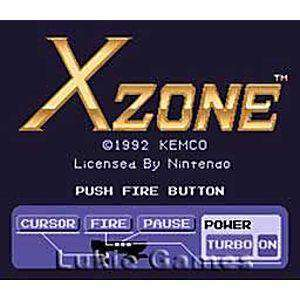 X-Zone - SNES Game | Retrolio Games
