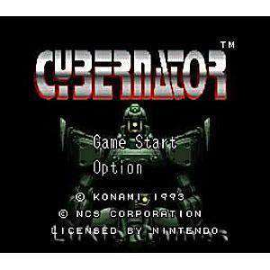 Cybernator - SNES Game | Retrolio Games