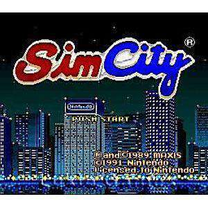 Simcity - SNES Game | Retrolio Games