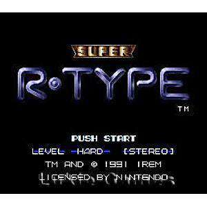 Super R-Type - SNES Game | Retrolio Games