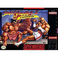 Street Fighter II Turbo - SNES Game | Retrolio Games