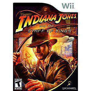 Indiana Jones and the Staff of Kings - Wii Game | Retrolio Games