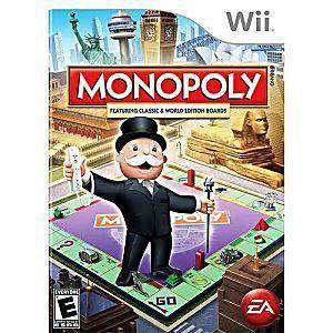 Monopoly - Wii Game | Retrolio Games