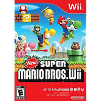 New Super Mario Bros. Wii - Wii Game