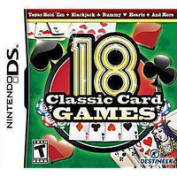 18 Classic Card Games DS Game - DS Game | Retrolio Games