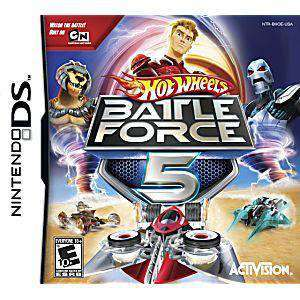 Hot Wheels: Battle Force 5 DS Game - DS Game | Retrolio Games