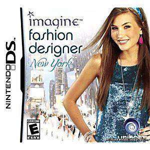 Imagine Fashion Designer New York DS Game - DS Game | Retrolio Games