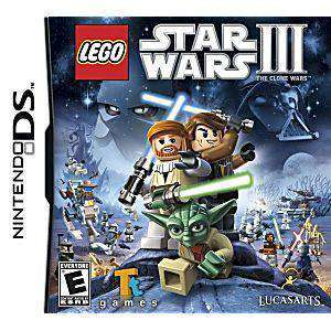 LEGO Star Wars III: The Clone Wars - DS Game | Retrolio Games