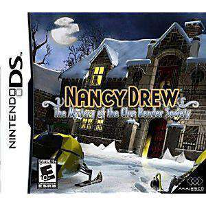 Nancy Drew The Mystery of the Clue Bender Society DS Game - DS Game | Retrolio Games