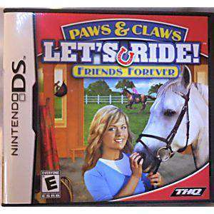 Paws & Claws Let's Ride! Friends Forever - DS Game | Retrolio Games