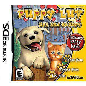 Puppy Luv Spa & Resort DS Game - DS Game | Retrolio Games