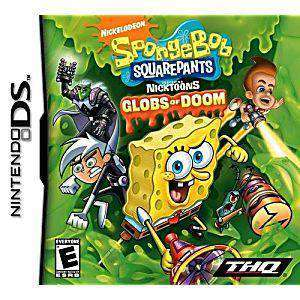 SpongeBob SquarePants Featuring Nicktoons Globs of Doom - DS Game | Retrolio Games