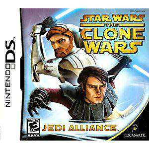 Star Wars Clone Wars Jedi Alliance DS Game - DS Game | Retrolio Games