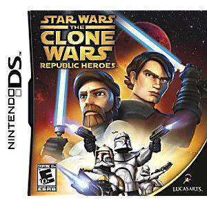 Star Wars Clone Wars: Republic Heroes DS Game - DS Game | Retrolio Games
