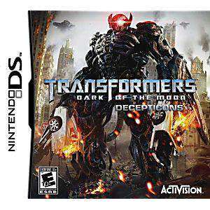 DS Transformers: Dark of the Moon Decepticons - DS Game | Retrolio Games