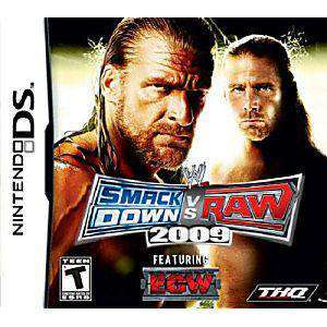 WWE SmackDown vs. Raw 2009 DS Game - DS Game | Retrolio Games