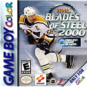 NHL Blades of Steel 2000 - Gameboy Color Game