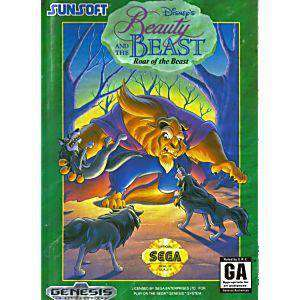 Beauty And The Beast Roar of the Beast - Genesis Game | Retrolio Games