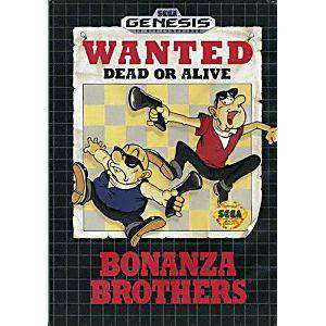 Bonanza Brothers - Genesis Game | Retrolio Games