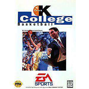Coach K College Basketball - Genesis Game | Retrolio Games