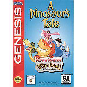 A Dinosaurs Tale - Genesis Game | Retrolio Games
