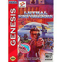 Lethal Enforcers - Genesis Game | Retrolio Games