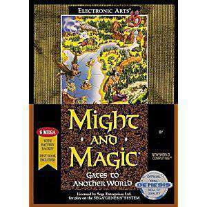 Might and Magic Gates to Another World - Genesis Game | Retrolio Games