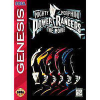 Mighty Morphin Power Rangers The Movie - Genesis Game | Retrolio Games