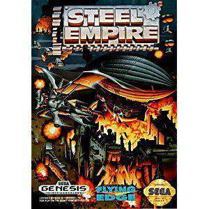 Steel Empire - Genesis Game | Retrolio Games