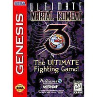 Ultimate Mortal Kombat 3 - Genesis Game | Retrolio Games