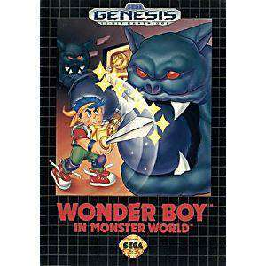 Wonder Boy in Monster World - Genesis Game | Retrolio Games