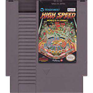 High Speed Pinball - NES Game | Retrolio Games