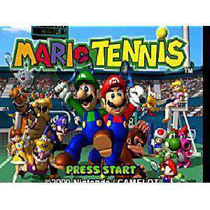 Mario Tennis - N64 Game | Retrolio Games
