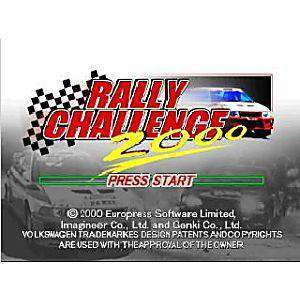 Rally Challenge 2000 - N64 Game | Retrolio Games