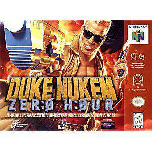 Duke Nukem Zero Hour - N64 Game | Retrolio Games