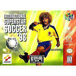 International Superstar Soccer '98 - N64 Game | Retrolio Games