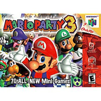 Mario Party 3 - N64 Game